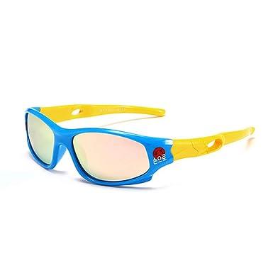 Wang-RX Gafas de sol deportivas Niños polarizados Niños ...