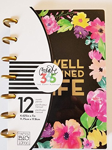 ideas Create Planner Blooms January