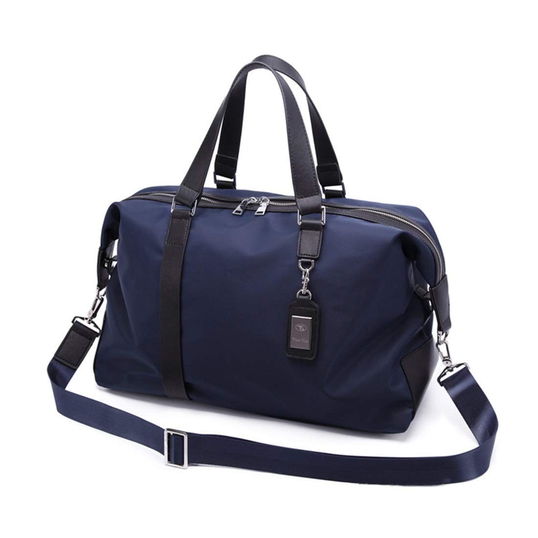 Color : Blue RABILTY Mens Travel Sports Bag Outdoor Portable Leisure Shoulder Multi-Outside Gym Bag
