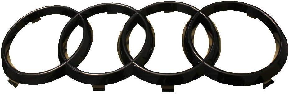 Original Audi Emblem Ringe Schwarz Glänzend Auto