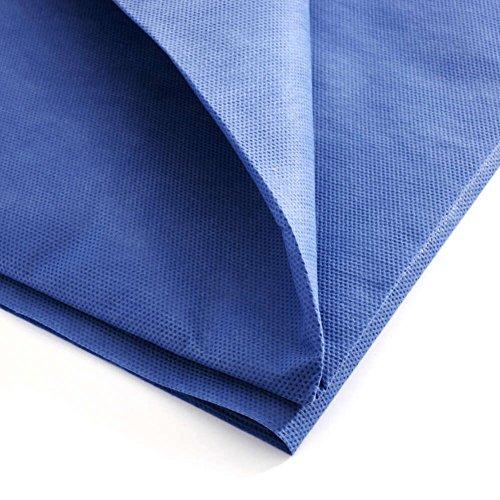 MediChoice Drape Sheets, Stretcher, Non Woven Repels Fluid, Spunbond Meltblown Spunbond, 40 Inch x 90 Inch, Blue (Case of 50) by MediChoice (Image #2)