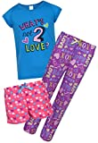 Sleep and Co Girls 3-Piece Pajamas Set