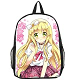 Gumstyle The Hentai Prince and the Stony Cat Anime Cosplay Bookbag Backpack Racksack Shoulder Bag School Bag