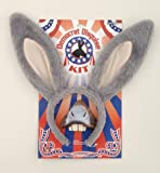 Show your Democratic side by wearing a Democratic Disguise Kit. 2 piece Democrat Kit includes Plush Donkey Ears Headband and Rubber Nose with Elastic Strap.