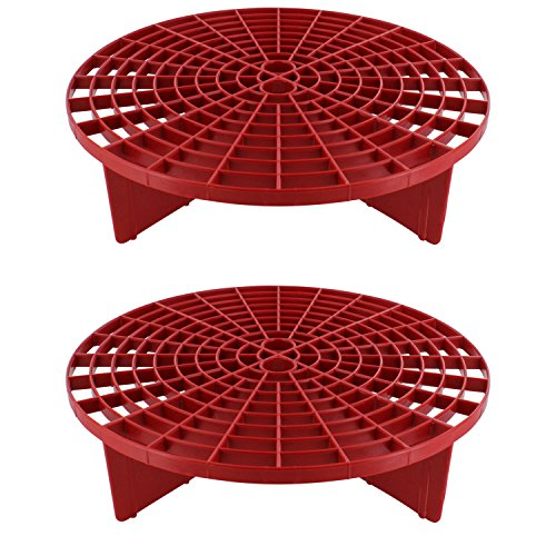 Red Grit Guard - The Grit Guard Insert - Red (2 Pack)
