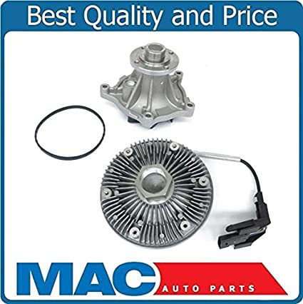 Amazon.com: F250 F350 SUPERDUTY 6.4 DIESEL TURBO 08-10 100% NEW Engine Water Pump Fan Clutch: Automotive
