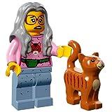 The Lego Movie Mrs. Scratchen-Post Cat Lady Minifigure Series 71004