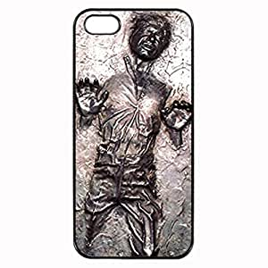 Han Solo Frozen in Carbonite Unipue Custom Image Case iphone 5 case , iphone 5S case, Diy Durable Hard Case Cover for iPhone 5 5S , High Quality Plastic Case By Argelis-sky, Black Case New