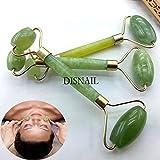 mazimark -- de naturaleza verde Cuerpo Sano pies cuello cabeza rodillo de jade Cara Facial Belleza Masajeador