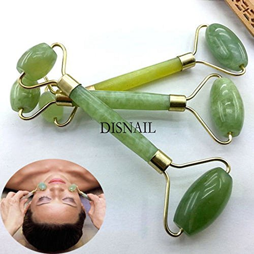 MAZIMARK--Green Nature Healthy Body Head Neck Foot Jade Roller Facial Face Beauty - Nc Outlet Mall In