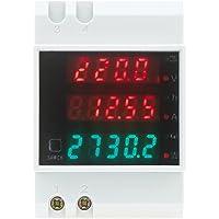 KKmoon AC80-300V 100A Poder Factor Metro Amperímetro Voltímetro