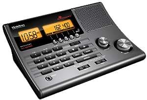 Uniden 300-Channel Clock Radio Scanner