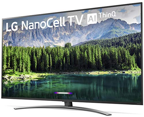 LG 75SM8670PUA Nano 8 Series 75 4K Ultra HD Smart LED NanoCell TV (2019)