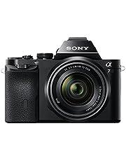 Sony ILCE-7KB Appareil Photo Numérique Hybride Capteur Plein Format 24,3 Mpix Films Full HD 1080p NFC / Wifi avec Objectif 28-70mm