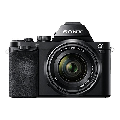 Sony Alpha 7KB Systemkamera (24,3 Megapixel, 7,6 cm (3 Zoll) Display, BIONZ X, 2,3 Megapixel OLED Sucher, NFC) inkl. SEL 28-70mm schwarz