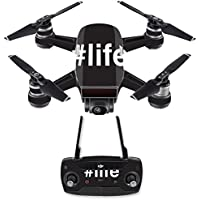 Skin for DJI Spark Mini Drone Combo - Life| MightySkins Protective, Durable, and Unique Vinyl Decal wrap cover | Easy To Apply, Remove, and Change Styles | Made in the USA
