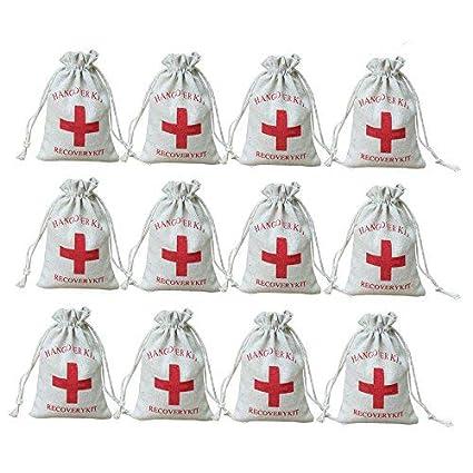 AmaJOY Bolsas de regalo para boda hechas de algodón con ...
