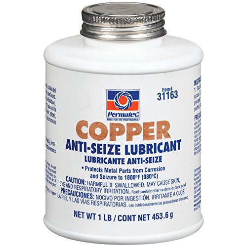 Permatex 31163-12PK Copper Anti-Seize Lubricant, 1 lb (Pack of 12)