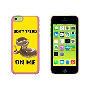 Gadsden Flag in Color - Don't Tread on Me Rattlesnake Tea Party Snap On Hard Protective Case for Apple iPhone 6 4.7 - Pink WANGJING JINDA