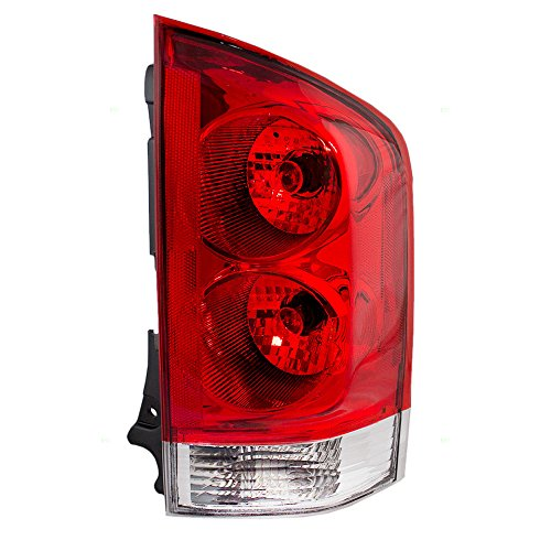 Passengers Taillight Tail Lamp Lens Replacement for Nissan Armada ()