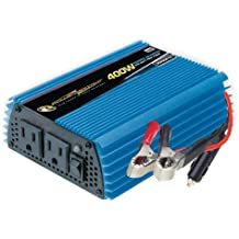 Power Bright PW400-12 Power Inverter 400 Watt 12 Volt DC To 110 Volt AC