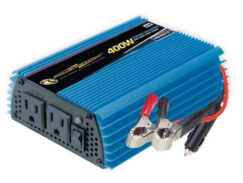 Power Bright PW400-12 Power Inverter 400 Watt 12 Volt DC To 110 Volt AC ()