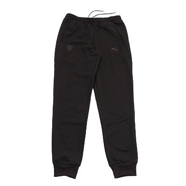 Puma Black Men s Ferrari Sweat Pants cc Track Pants  Amazon.in ... 733ba4dab57d1