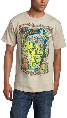 Merchandise Allman Brothers - FEA  Men's Allman Brothers Angel T-Shirt,Cobblestone,X-Large