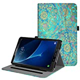 Fintie Case for Samsung Galaxy Tab A 10.1, [Corner Protection] Multi-Angle Viewing Folio Stand Cover with Packet Auto Sleep/Wake for Tab A 10.1 (NO S Pen Version SM-T580/T585/T587), Shades of Blue