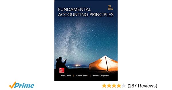 Fundamental Accounting Principles Hardcover John J Wild