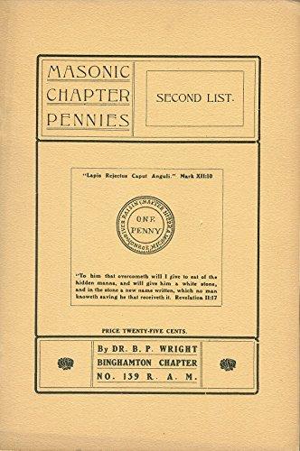 Masonic Chapter Pennies, Second List