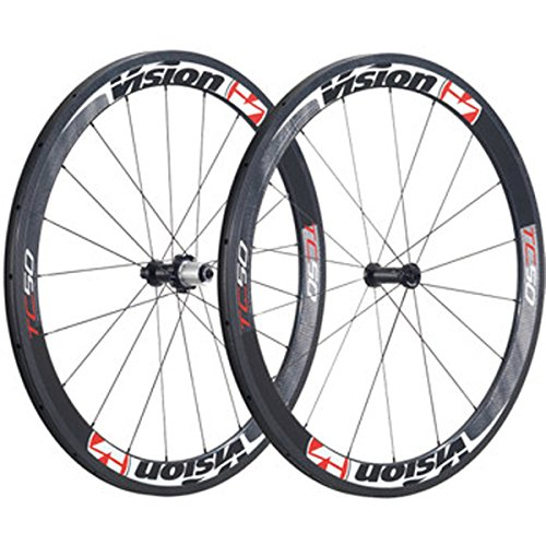 FSA Vision TriMax Carbon TC50 Tubular Bicycle Wheel Set - WH-VT-880CH - 710-0160