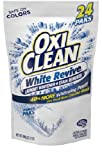 oxy clean stain fighter - OxiClean White Revive Stain Remover Power Paks, 24 Count