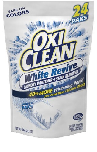 OxiClean White Revive Laundry Stain Remover Power Paks