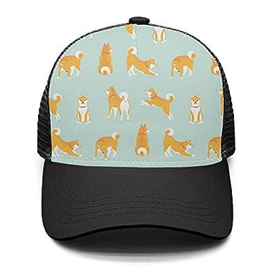 Taiyesybbq Casual Baseball Caps Akita Dog Cool Adjustable Mesh Strapback Hat