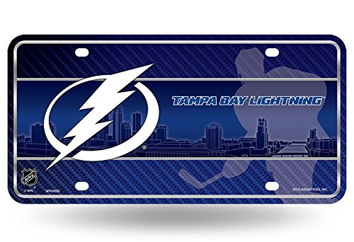 Tampa Bay Lightning 9202 New City Design Metal Novelty License Plate Tag NHL Hockey