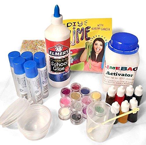 Karina garcias diy slime paperback 28 jul 2016 buy online in slimebags how to make slime making kit large slime activator diy set karina garcias ccuart Gallery