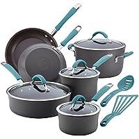 Rachael Ray Cucina 12 Piece Cookware Set (Blue) + $20 Kohls Cash