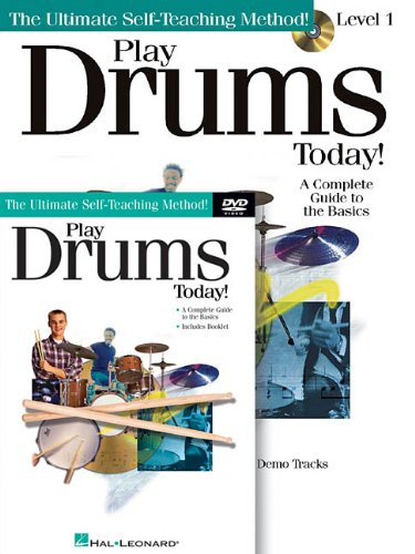 Play Drums Today! Beginner's Pack: Book/CD/DVD Pack PDF