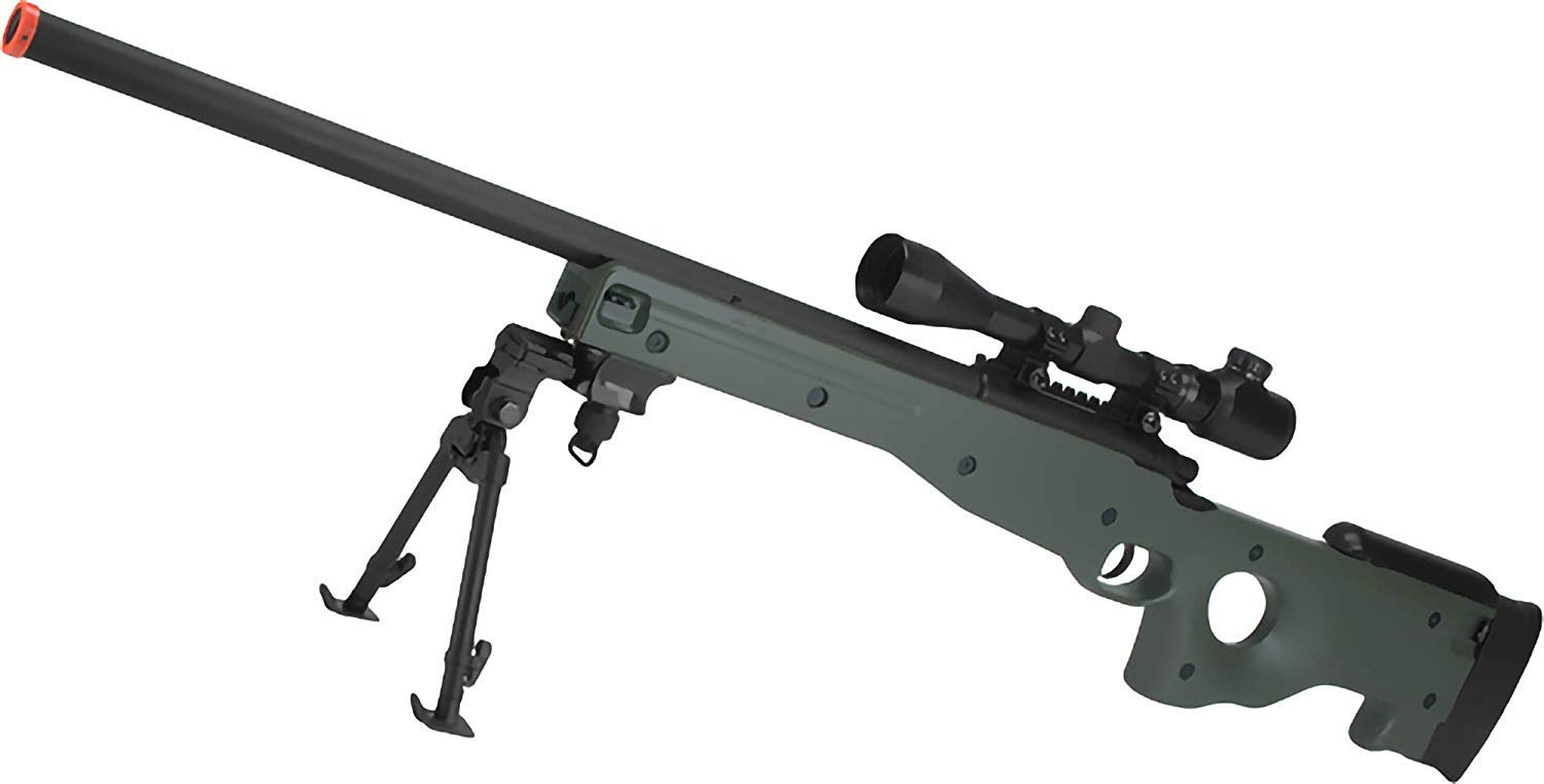 Color: OD Green Evike AGM Type 96 Airsoft Bolt Action Sniper Rifle Gun Only