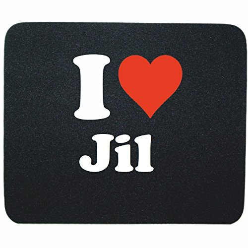 exklusiv-mousepad-i-love-jil-in-black-a-great-gift-idea-for-your-partner-colleagues-and-many-more