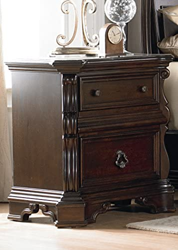 Liberty Furniture INDUSTRIES Arbor Place Night Stand, W30 x D19 x H30, Dark Brown