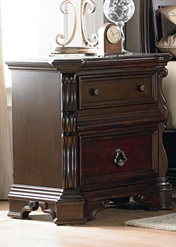 Liberty Furniture Arbor Place Bedroom Night Stand, Brownstone Finish