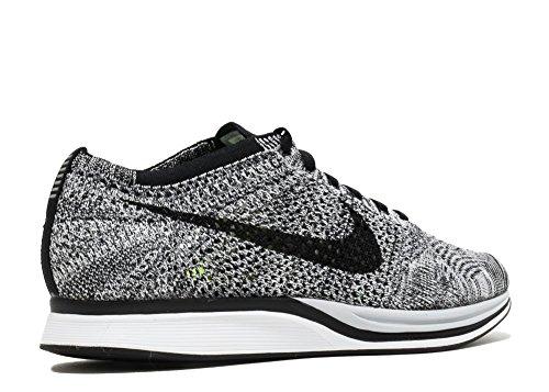 Nike Herren Laufschuhe Weiß / Schwarz / Grün (Weiß / Schwarz-Volt)