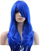 """YOPO 28"""" Wigs Halloween Long Curly Wavy Wig Cosplay Costume Parties Wig"""