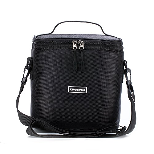Cooler Bag KINGSWELL I7603 7L Durable and Waterproof Insulated Picnic Bag for Outdoor Camping Hiking Travelling Fishing - Vero Mall Beach