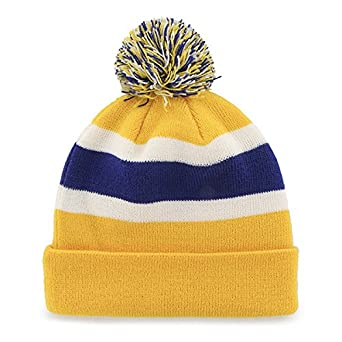 47 Brand Breakaway Cuff Beanie Hat with POM POM NBA Cuffed Winter Knit Baseball Cap