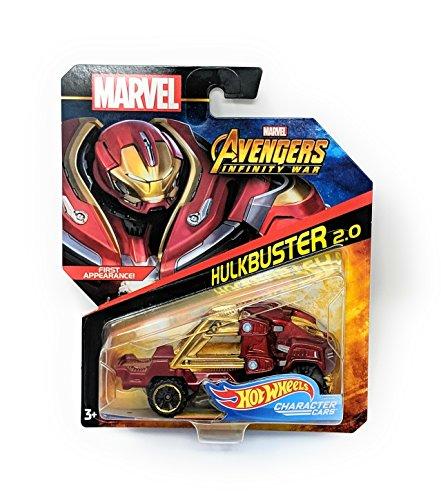 Hot Wheels Character Cars Marvel Avengers Infinity War HULKBUSTER 2.0 First -