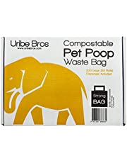 Uribe Bros. Strong and Eco-Friendly Pet Poop Waste Bags (300 ct.)