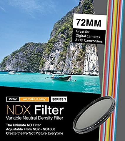 ND8 ND Neutral Density Motion Blur Shutter Speed Filter for Canon EF 50-200mm f//3.5-4.5L Lens